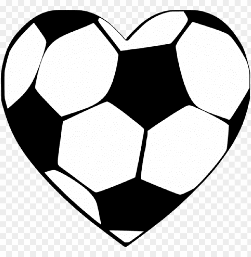 free PNG banner stock soccer ball heart clipart - soccer ball cross stitch PNG image with transparent background PNG images transparent