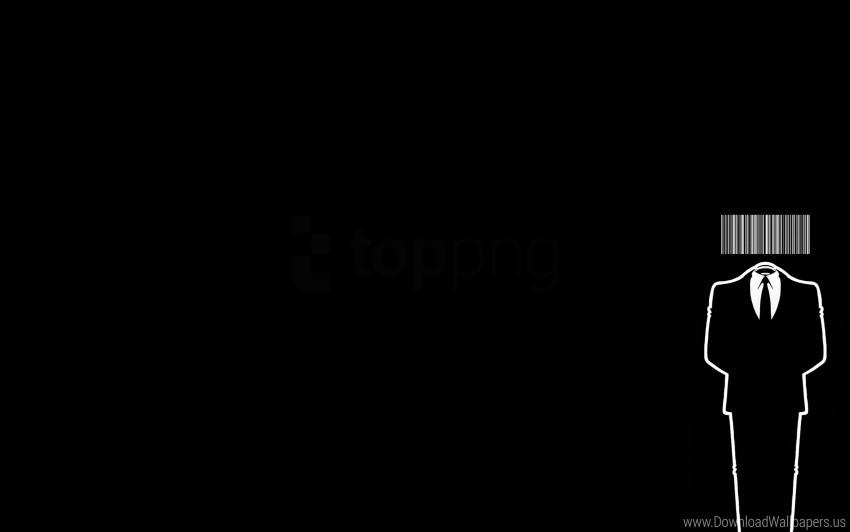 Bar Code Black Costume Tuxedo Wallpaper Background Best Stock