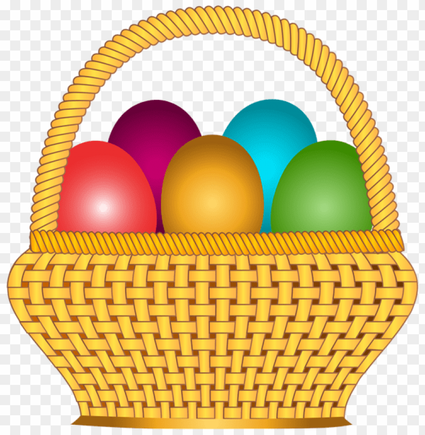 free PNG Download basket with easter eggs png images background PNG images transparent