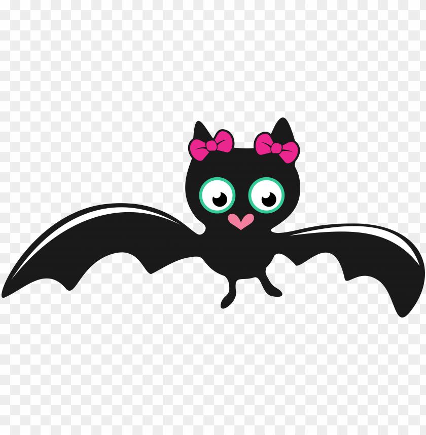 Bat Girl Cute Halloween Svg Cuttable Designs Cute