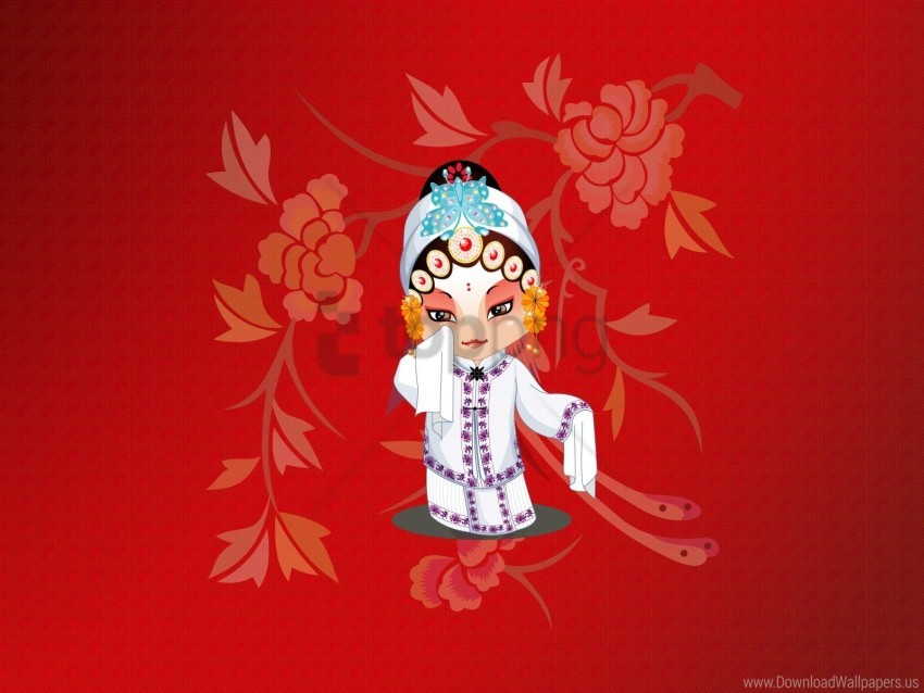 free PNG beijing opera, costume, sadness, sleeves wallpaper background best stock photos PNG images transparent