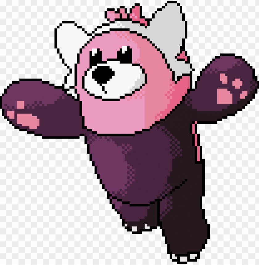 free PNG beware - pokemon pixel art bewear PNG image with transparent background PNG images transparent