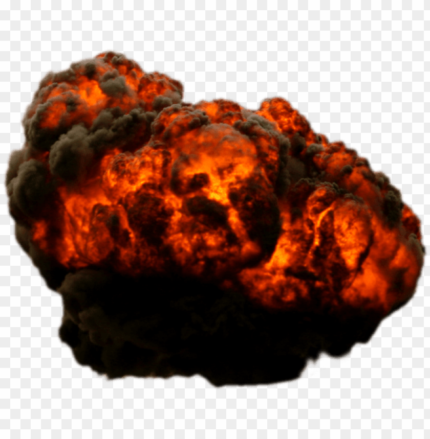 free PNG big explosion with fire and smoke png - Free PNG Images PNG images transparent