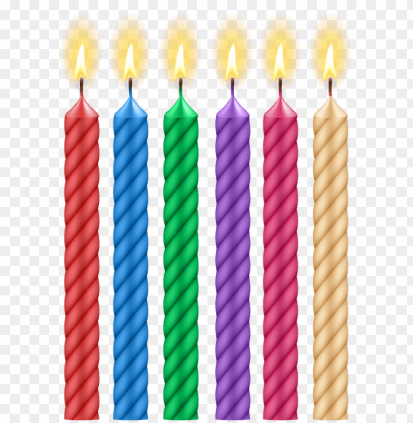 Download Birthday Candles Png Images Background Toppng