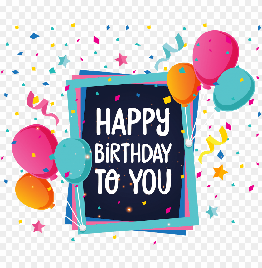 birthday png backgrounds hd - happy birthday 2018 new PNG
