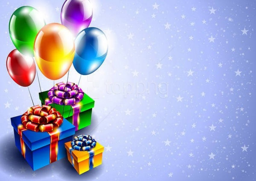 free PNG birthdaywith gifts background best stock photos PNG images transparent