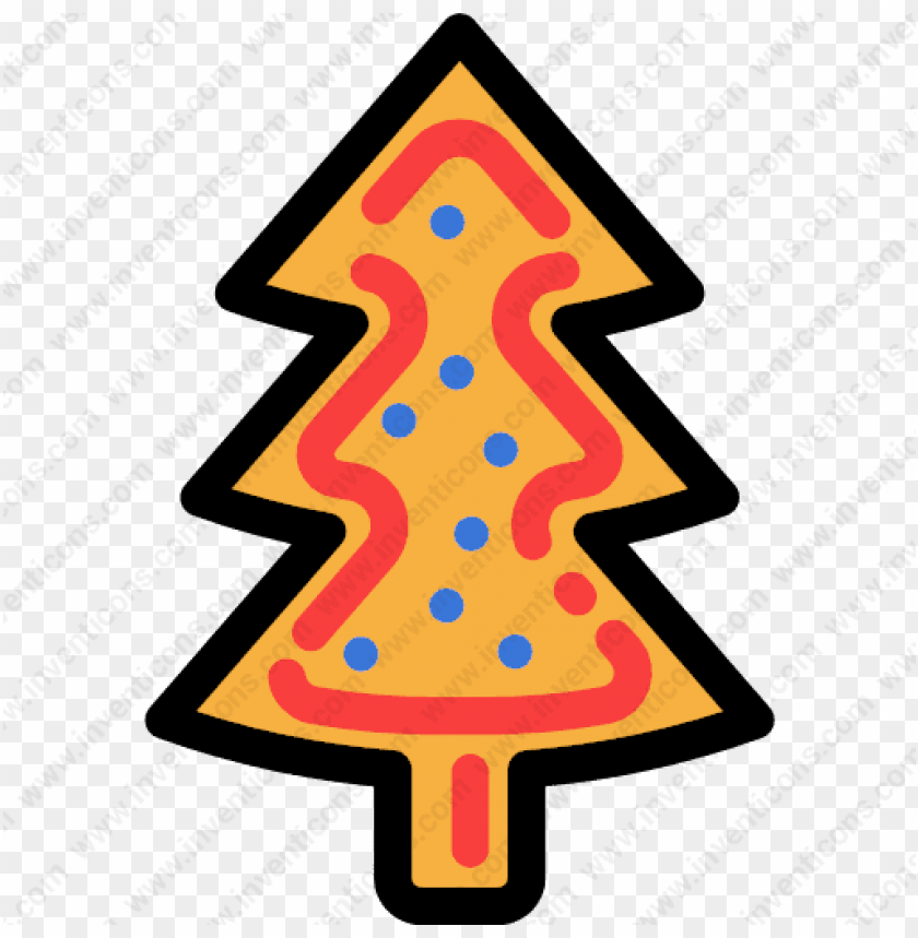 free PNG biscuit tree christmas dessert bakery sweet food - ต้น คริสต์มาส ขาว ดำ PNG image with transparent background PNG images transparent