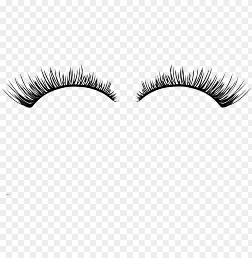 free PNG black and white library png eyelash - eyelash extensions fun facts PNG image with transparent background PNG images transparent