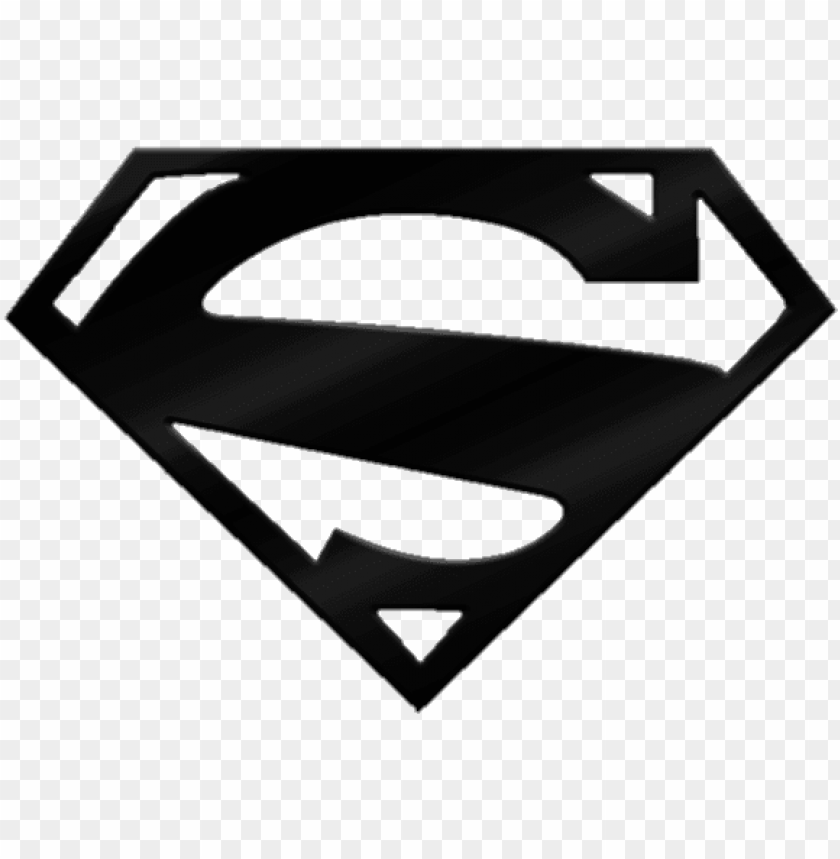 Black And White Superman Logo Png Pic New Superman Logo