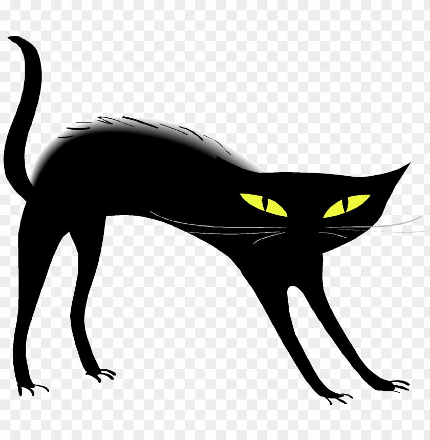 free PNG Download black cat png pic png images background PNG images transparent