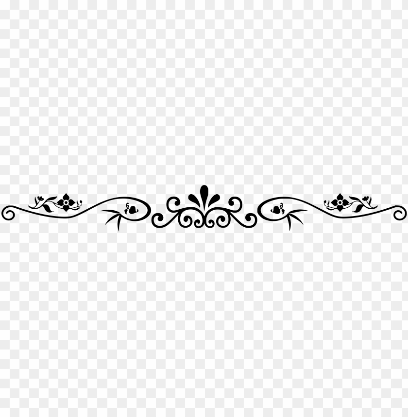 free PNG black flowers leaves divider PNG image with transparent background PNG images transparent