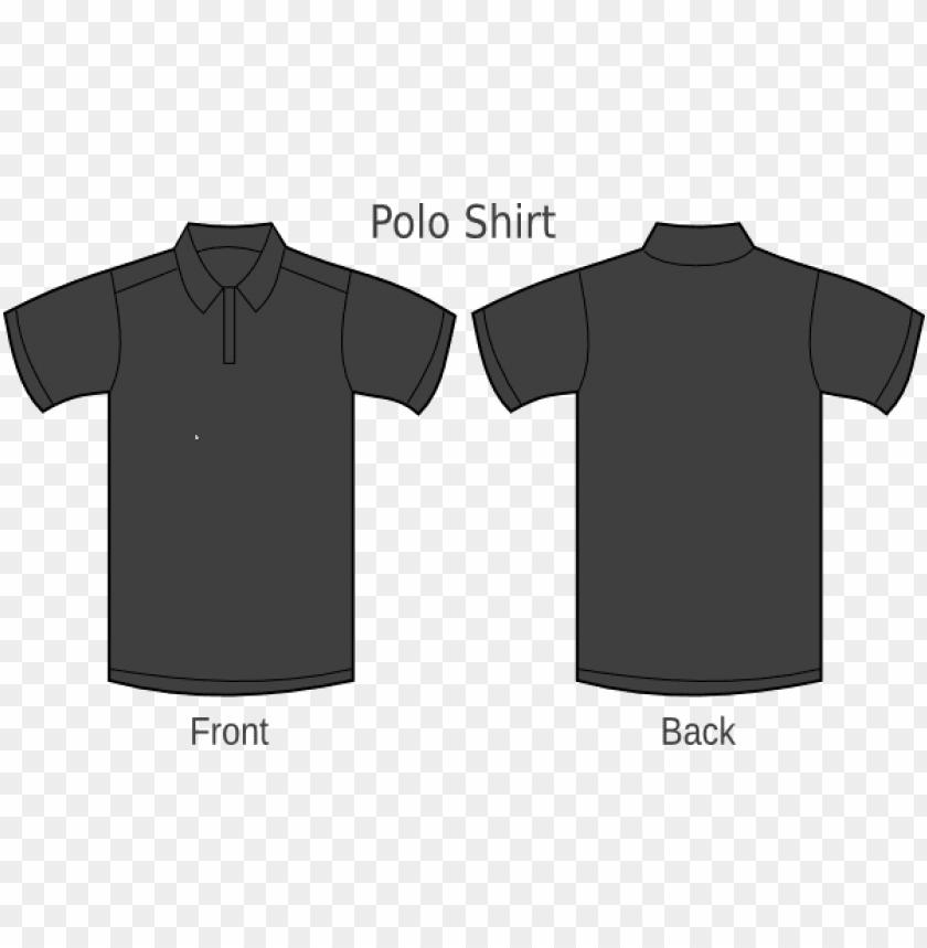 Black T Shirt Template Png Black V Neck Shirt Template Png Image