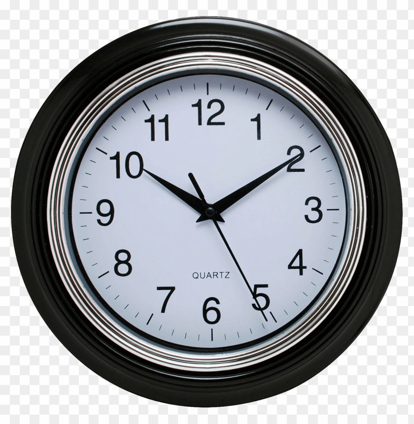 free PNG Black Wall Clock png images background PNG images transparent