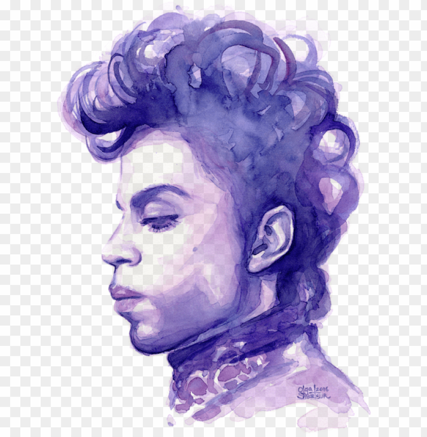 free PNG bleed area may not be visible - prince singer art PNG image with transparent background PNG images transparent