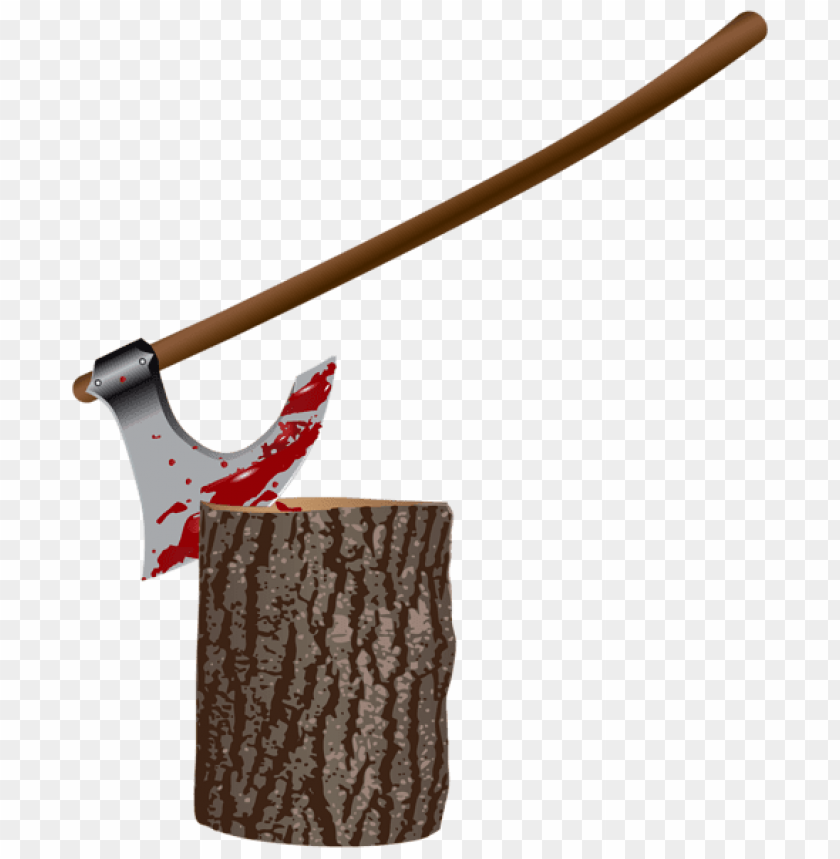 free PNG Download bloody axе and stump png images background PNG images transparent