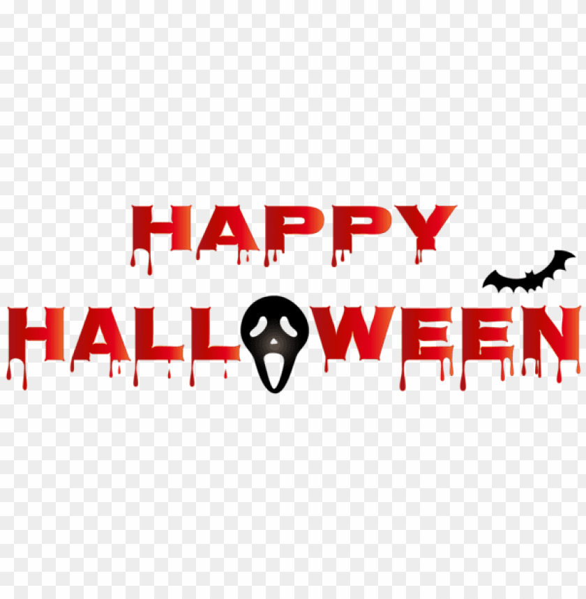 free PNG bloody happy halloween png PNG images transparent