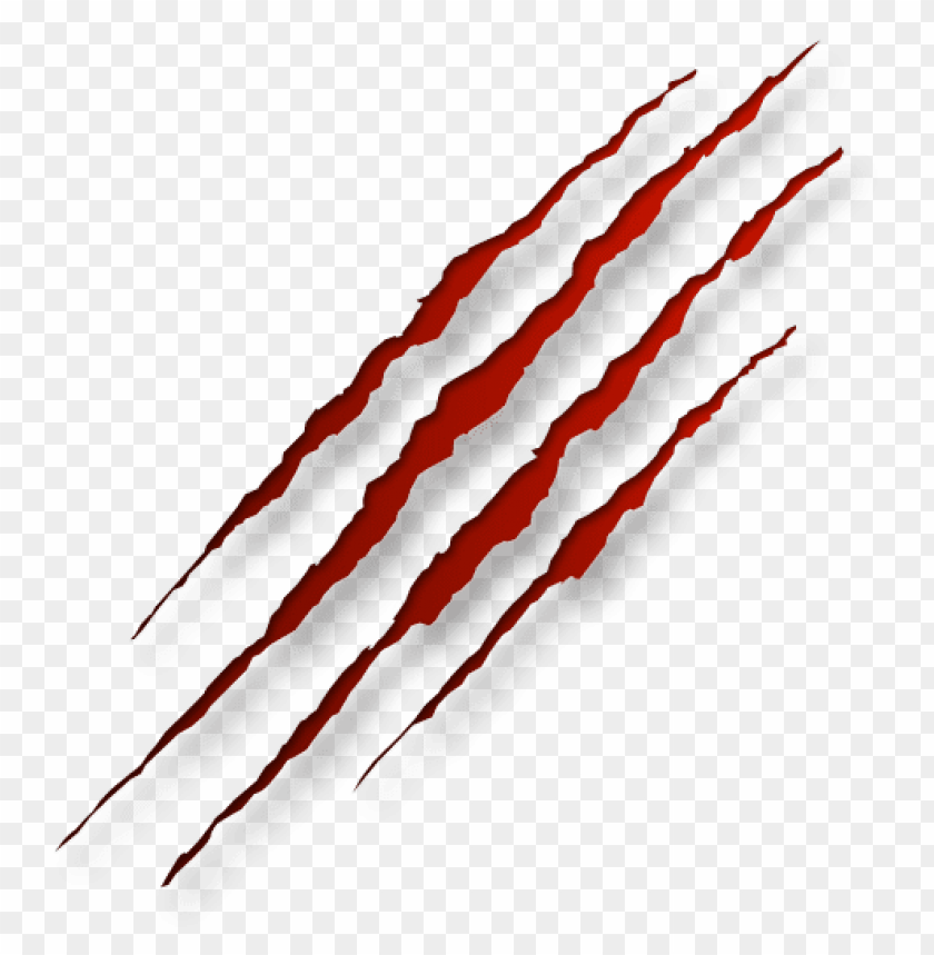 free PNG Download bloody scratches transparent picture png images background PNG images transparent
