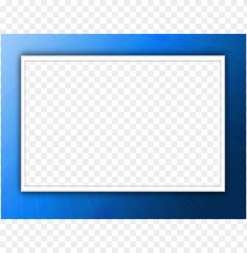 blue border frame png - Free PNG Images | TOPpng