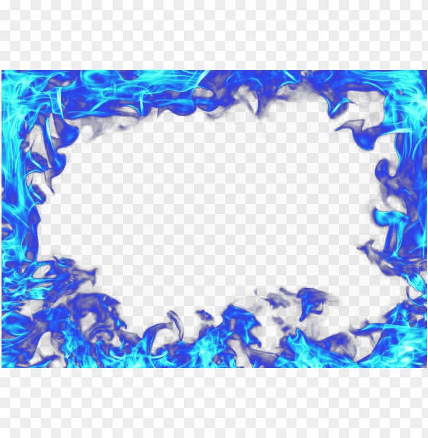 blue flame transparent image - blue flame transparent PNG