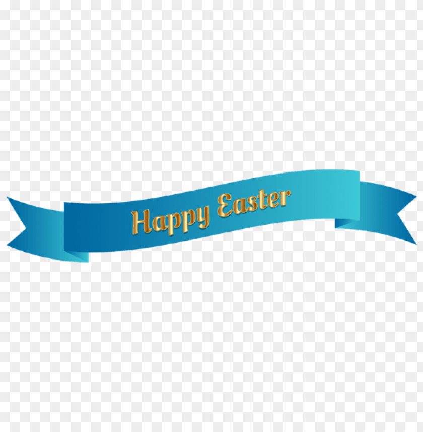 free PNG Download blue happy easter banner png images background PNG images transparent