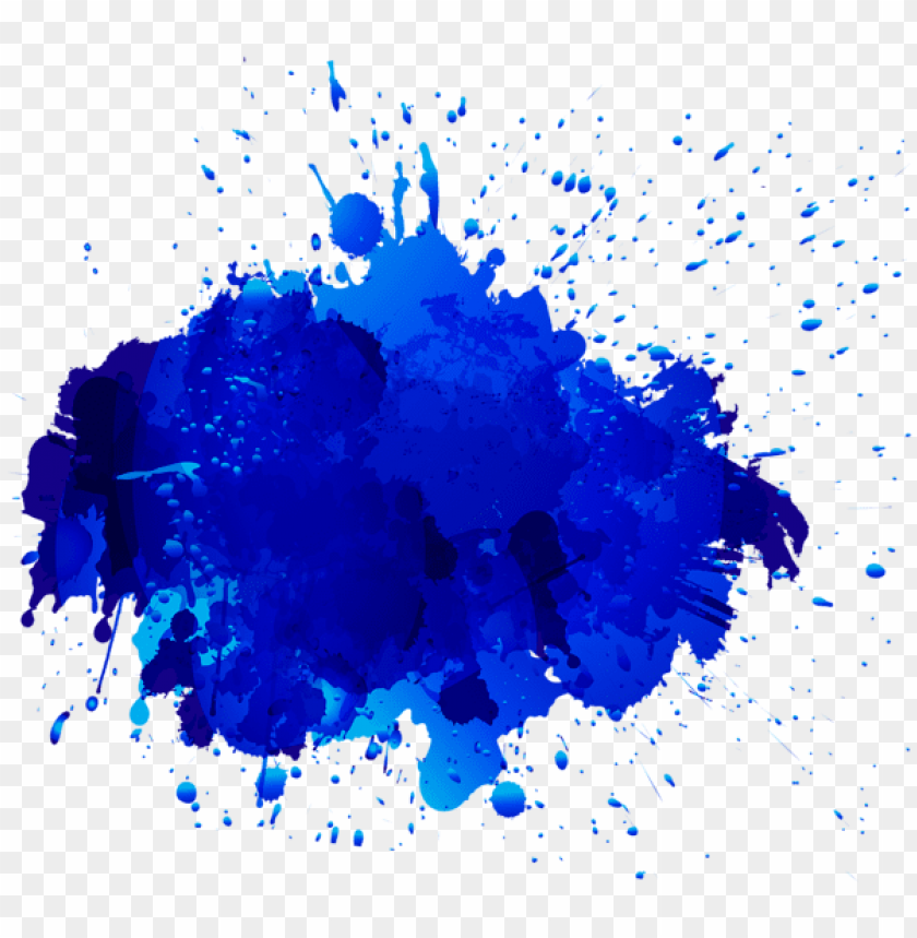 Free Png Blue Oil Paint Stain Transpa Clipart Photo Images