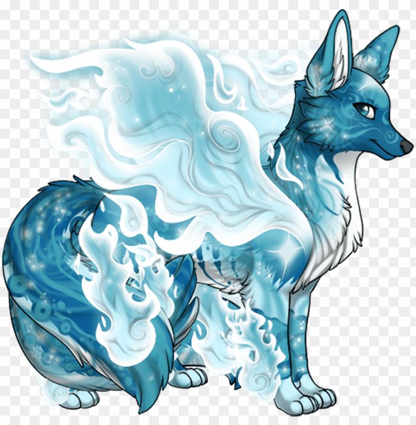 blue white wolf animals winged wings freetoedit illustratio