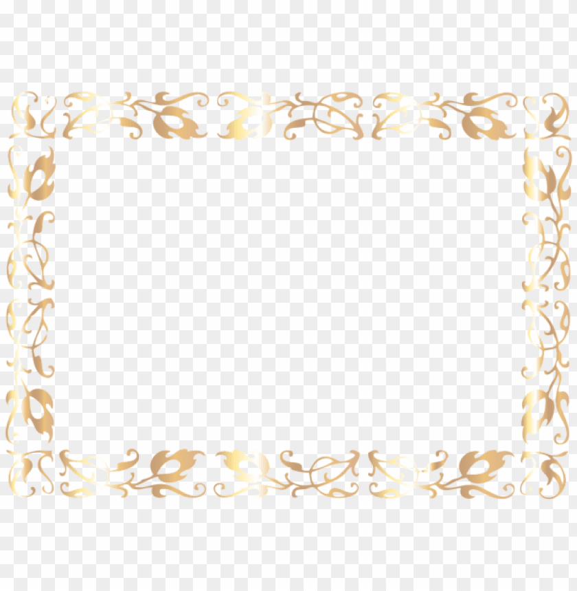 Border Deco Frame Png Free Png Images Toppng
