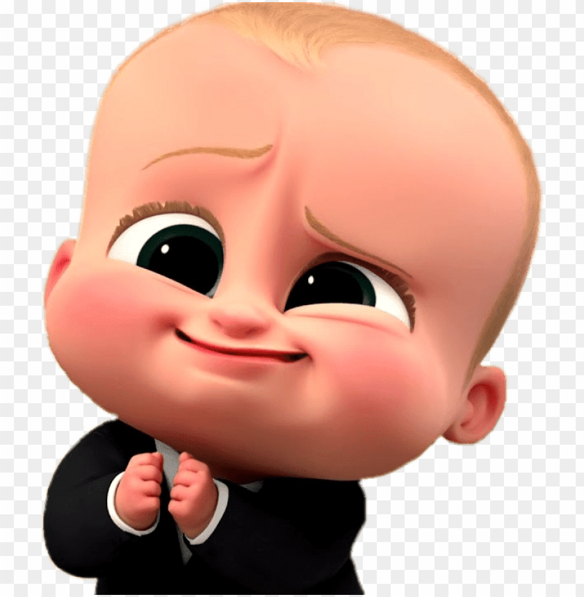 Boss Baby Cute Face Boss Baby Vector Png Image With