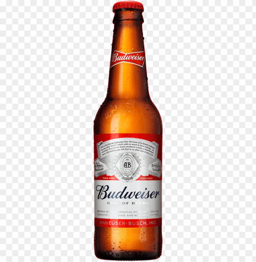 free PNG botella de budweiser cerveza colombiana - budweiser - 12 fl oz bottle PNG image with transparent background PNG images transparent