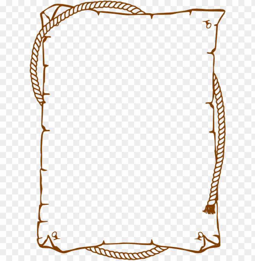 brown border frame png - Free PNG Images | TOPpng