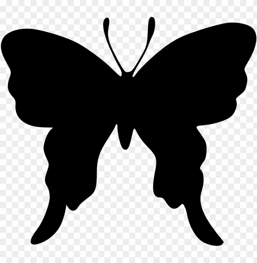 free PNG butterfly silhouette png - Free PNG Images PNG images transparent