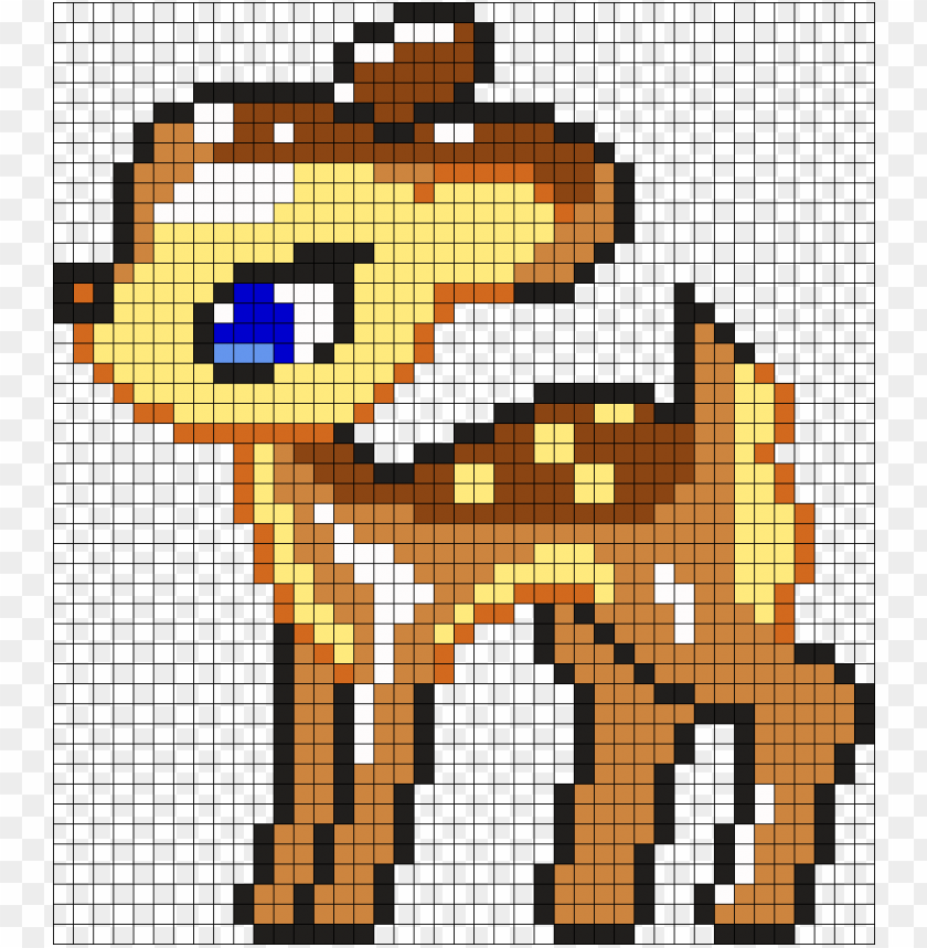 By Pixel Art Animaux Disney Png Image With Transparent