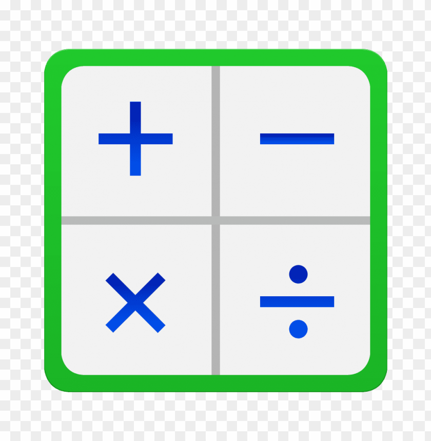 calculator icon galaxy s6 png - Free PNG Images | TOPpng