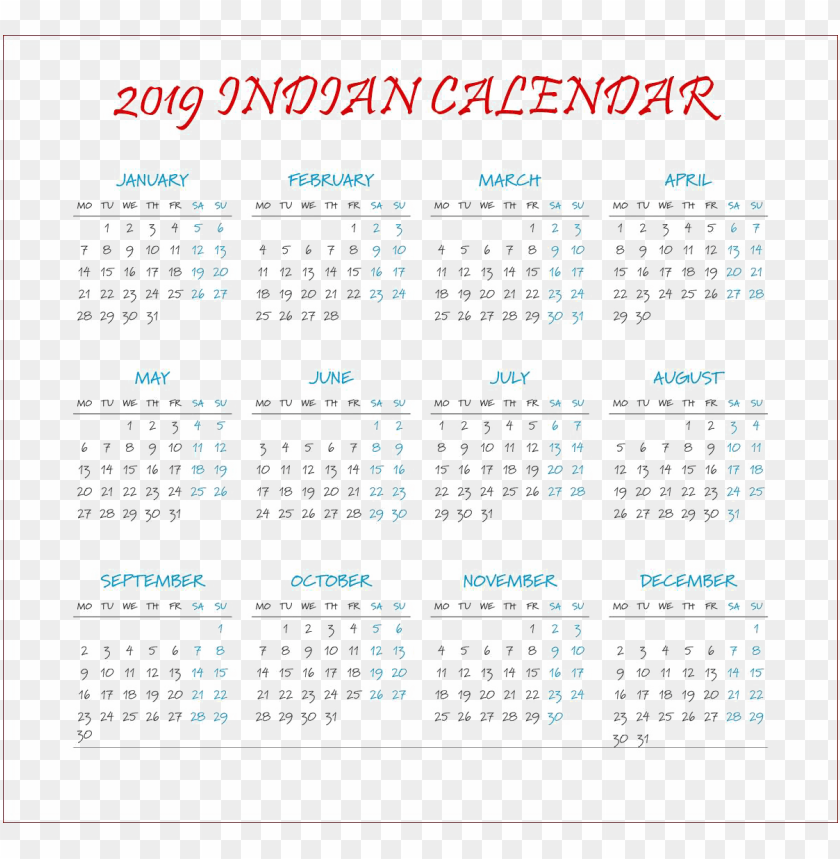 free PNG calendar 2019 free PNG images transparent