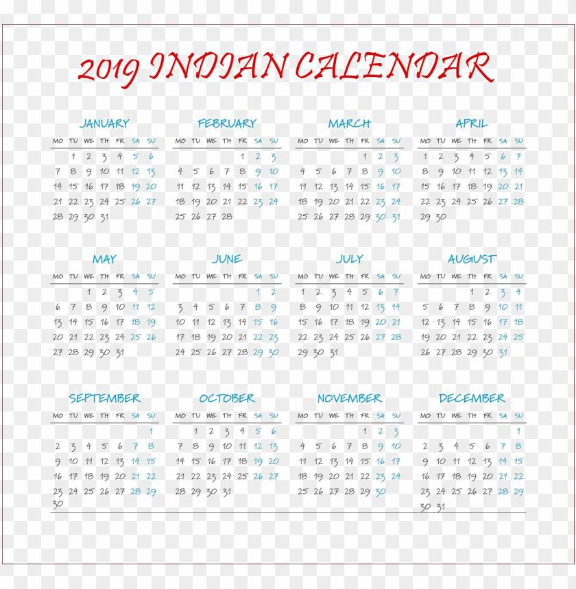 free PNG Download calendar 2019 free png images background PNG images transparent