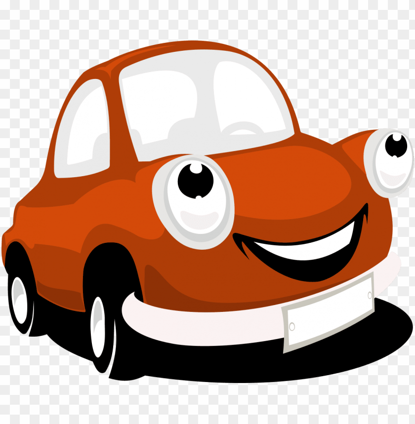 Car Cartoon Vector Png Image With Transparent Background Toppng