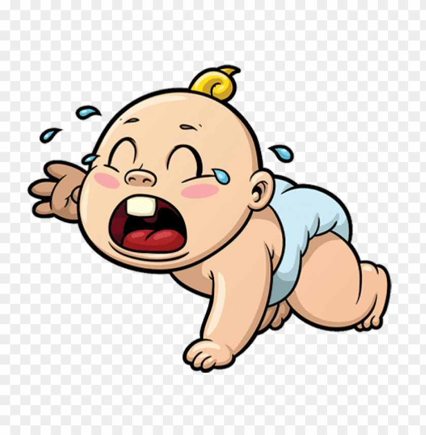 Download Cartoon Baby Crying Png Images Background Toppng