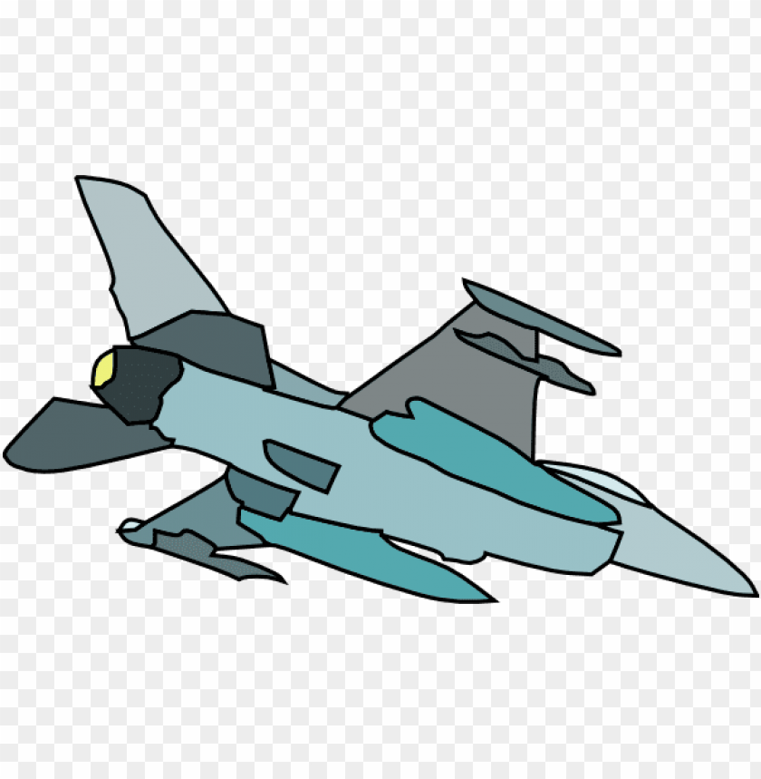 Cartoon Fighter Plane Png Image With Transparent Background Toppng