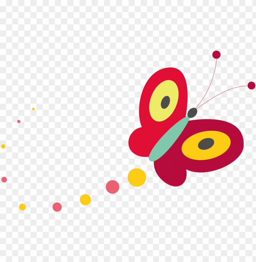 free PNG cartoon illustration - butterfly kite - cute cartoon butterfly PNG image with transparent background PNG images transparent