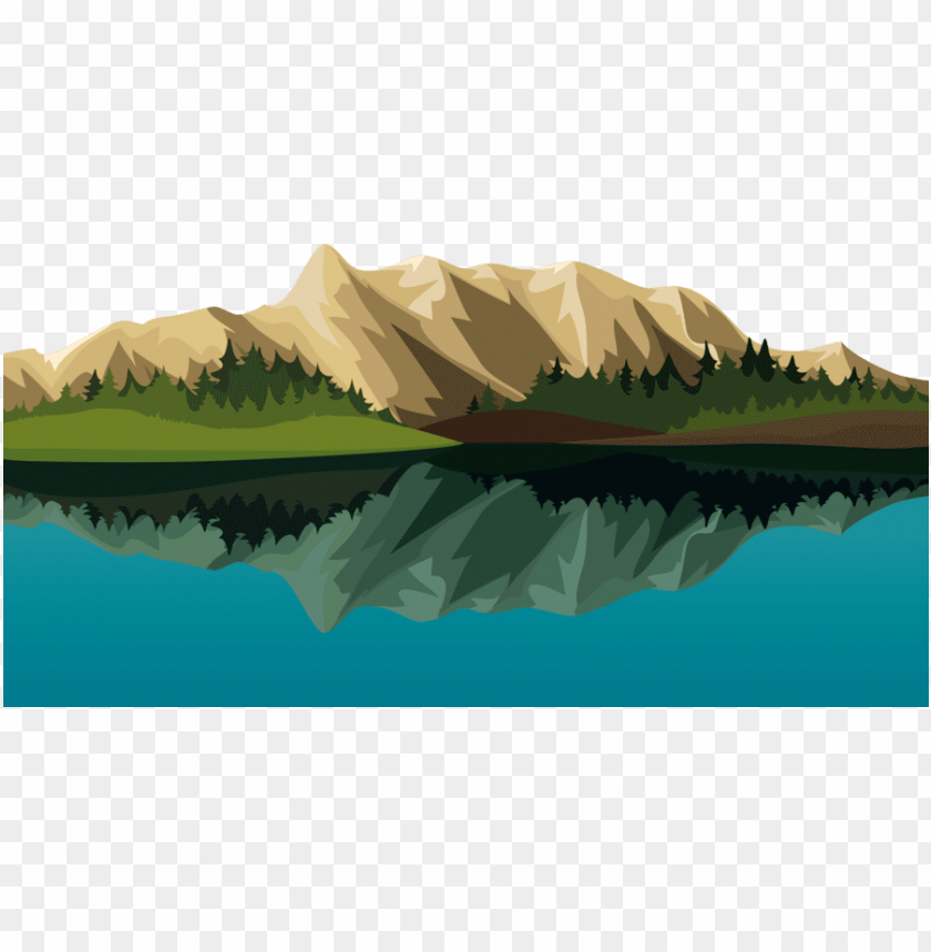 cartoon mountain png cartoon mountain lake clipart lake - mountains cartoon hd