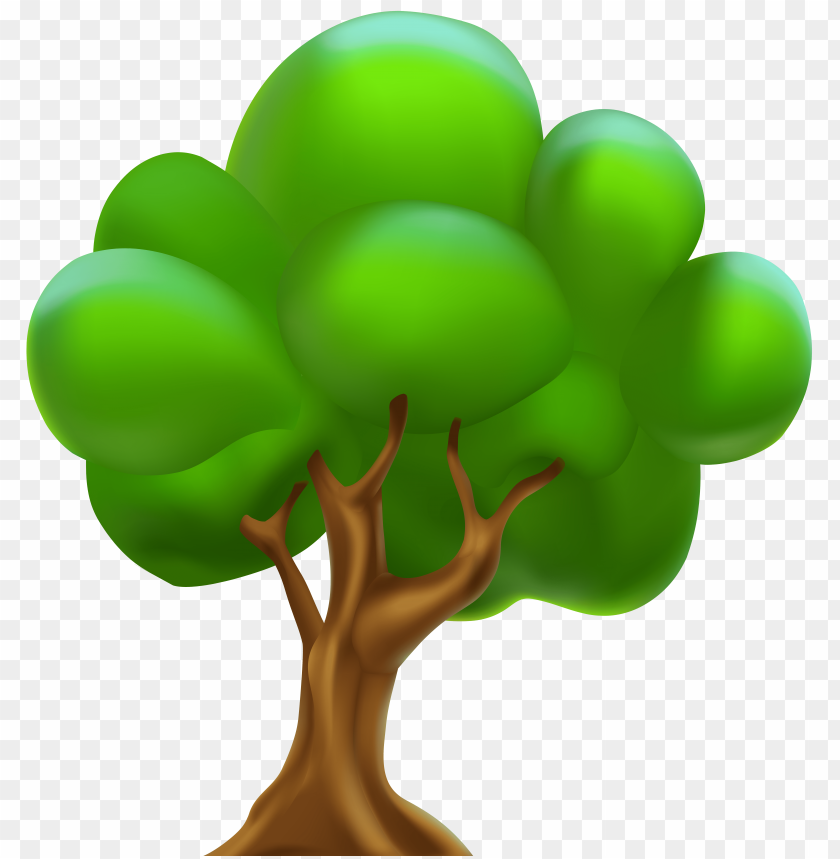 Download Cartoon Tree Clipart Png Photo Toppng