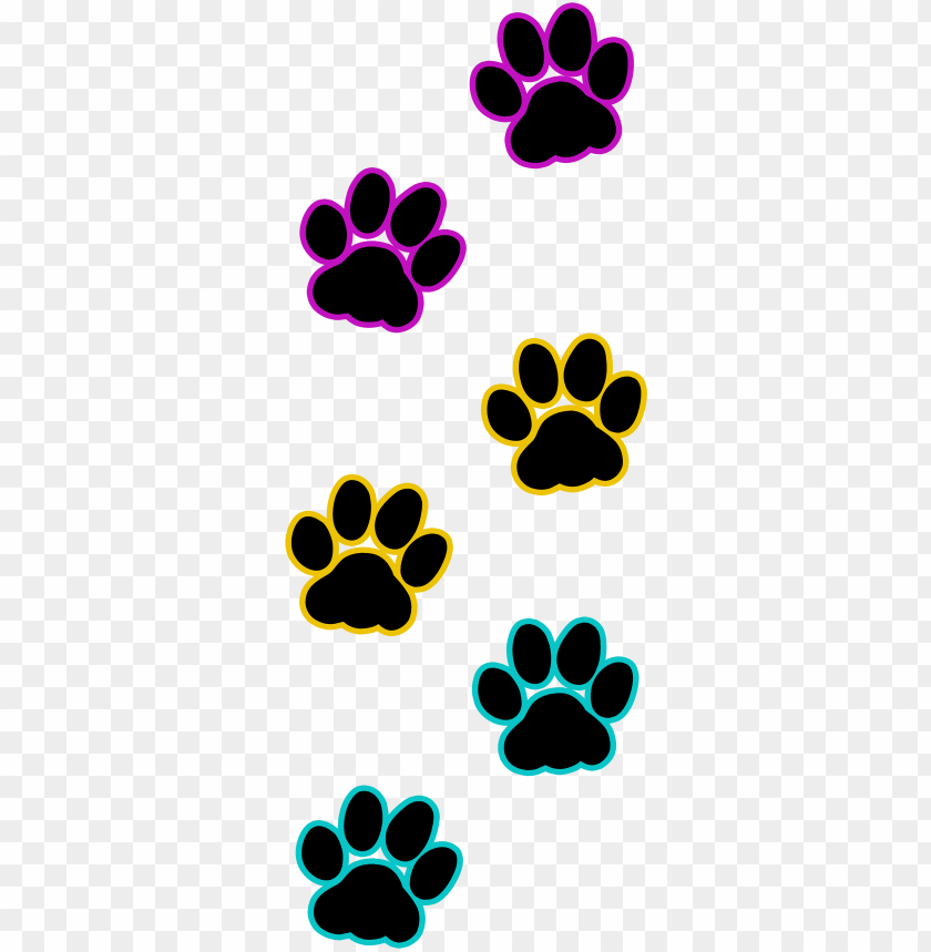 cat paw print pansexual - cat paws print purple PNG image
