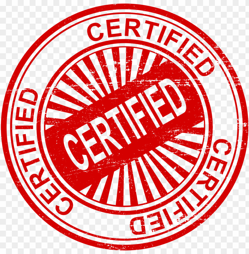 Certified Stamp Png