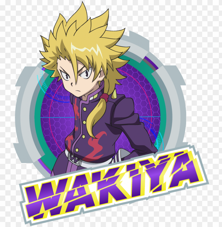 free PNG characters the official beyblade burst website beyblade - beyblade burst characters wakiya PNG image with transparent background PNG images transparent