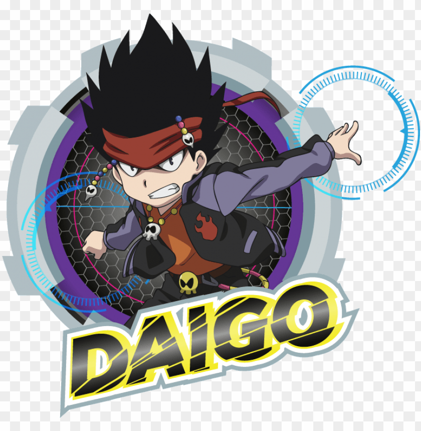 free PNG characters the official beyblade burst website - daigo beyblade burst evolutio PNG image with transparent background PNG images transparent