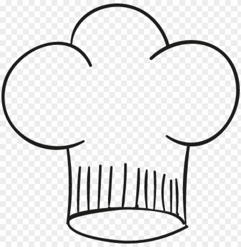chef hat vector - gorros de chef PNG image with transparent background@toppng.com
