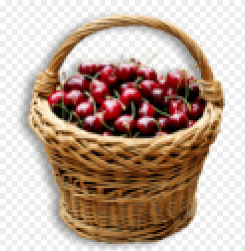 free png cherry basket PNG images transparent