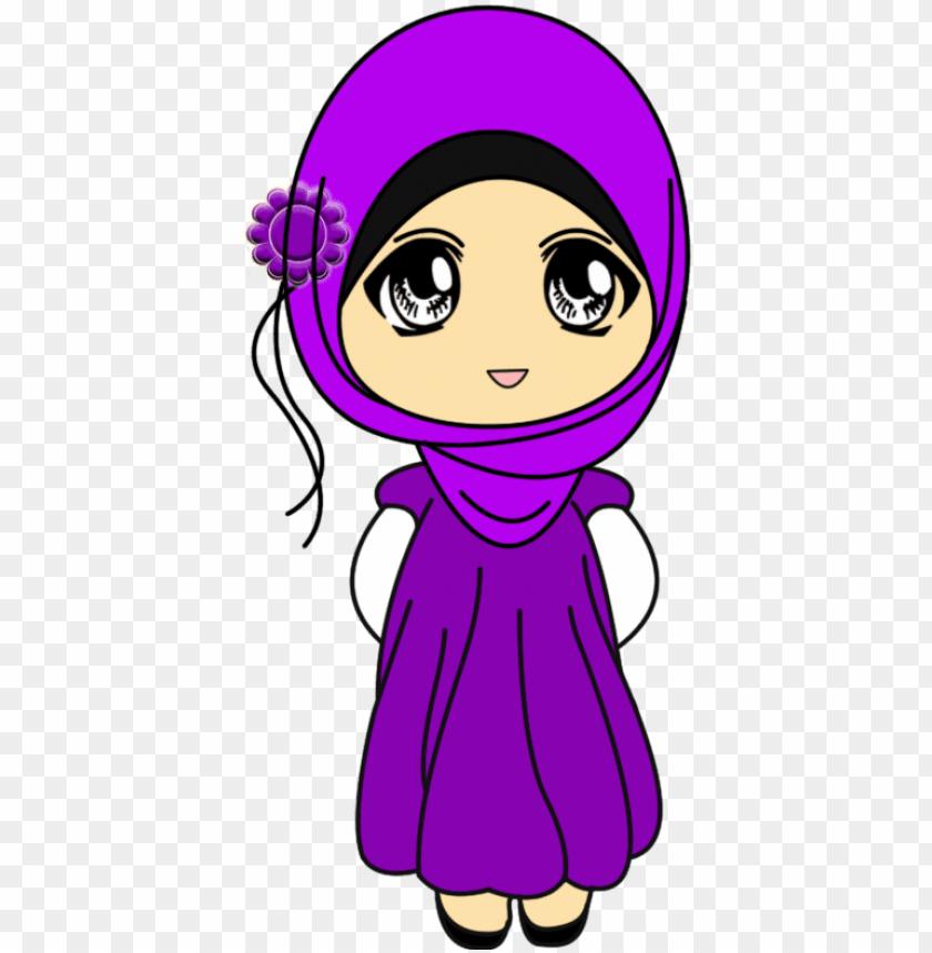 77 Koleksi Gambar Kartun Muslimah Full Body Gratis