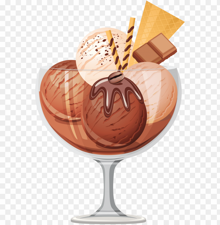 free PNG chocolate ice cream clipart chocolate ice cream png - chocolate ice cream clipart PNG image with transparent background PNG images transparent