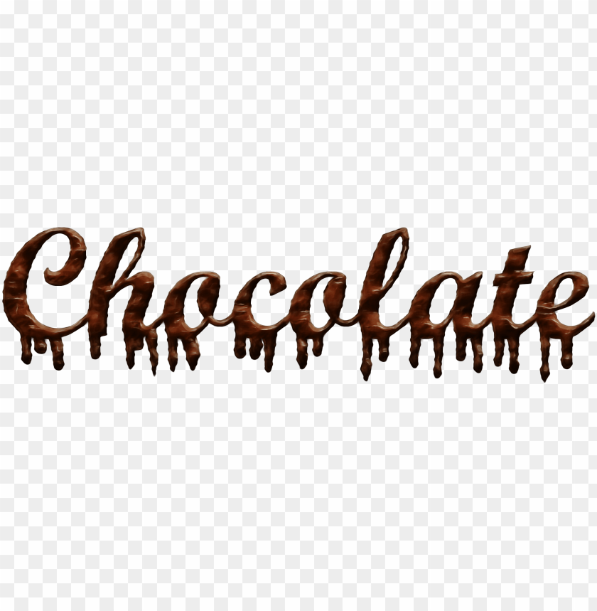free PNG chocolate spelled in chocolate PNG image with transparent background PNG images transparent
